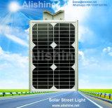 Lumière solaire extérieure Integrated de jardin de rue du détecteur radar à micro-ondes DEL