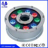 Свет RGB СИД провода алюминия 36W IP68 4 и 3 петель подводный