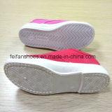 La última escuela barata calza los zapatos de la inyección de los zapatos de lona (FF921-2)