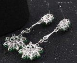 Серьга ювелирных изделий Zircon цветка 24935 способов роскошная для венчания или партии