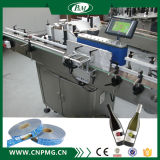 Máquina de etiquetado automático de botellas redondas para botella de cosméticos