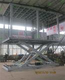 Plate-forme à la hausse hydraulique avec deux Deck