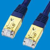 1 футов CAT7 SSTP сетевой кабель синего цвета (32-N3104-01)
