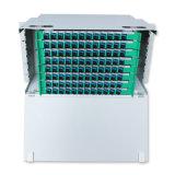 24-144 montado em rack de núcleo de aço Cold-Roll ODF de Fibra Óptica