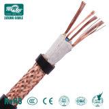 2x0,75 2x1,5 Câble de commande de Flexible/3x1,5 Câble de commande de 3x2.5 tressé