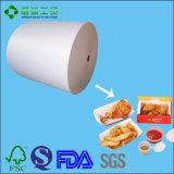 Nahrungsmittelgrad PET überzogenes Papier für gebratenen Chip-Kasten