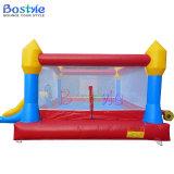 Bouncer de salto combinado, inflável inflável pequeno com corrediça