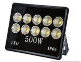 Indicatore luminoso di inondazione economizzatore d'energia di alto potere 500W LED