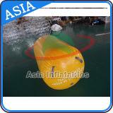 Bóias de cilindro de marcador de publicidade inflável personalizados promocionais Bóia flutuante de água plástica, jogo de segurança Bouy para água