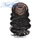 2017 peluca llena del cordón de la venta del pelo humano de la carrocería de la densidad china caliente de la onda 130%