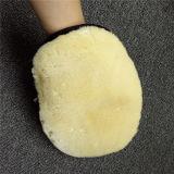 Перчатка мытья шерстей Nerino овчины Lambskin 100% неподдельная