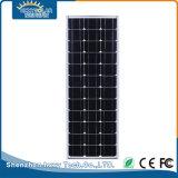 電池の太陽電池パネルが付いている屋外の統合された70W LEDの太陽街灯