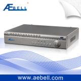 Réseau H.264 DVR en temps réel de canaux de la série 16 de S-Cf avec les entrées audio (BL-DVR416S-CF)