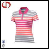 Première chemise de polo de femmes de piste de qualité de modèle de Chine