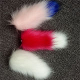 Пушистая поддельный оптовая продажа украшения Pompom шерсти Raccoon