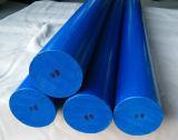 Rod di nylon, PA6 Rohi, Rod di plastica con colore bianco e blu