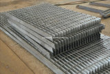 Grating van het staal