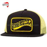 黄色い網のトラック運転手の帽子