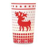 ベストセラーのロゴによってクリスマスのギフトのTealightの印刷されるカスタム昇進のホールダーおよび蝋燭