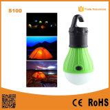 Colgante al aire libre LED del bulbo camping Carpa Pesca Luz lámpara de la linterna