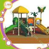Campo de jogos ao ar livre com GS, do fabricante profissional de China do tema da selva certificado En1176