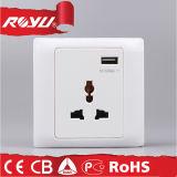 Mittlerer Osten britische 5V 1A USB-Wand-Kontaktbuchse USB-EU