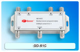 6in1 Sat / CATV Diseqc Switch avec certification CE
