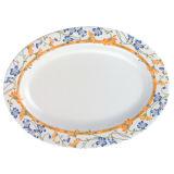 """100% louça placa oval da série """"invisível """"/utensílios de mesa de primeira qualidade da melamina (WT307)"""