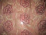 Los bordados Organdy-6070 cortina de tela (FDB)
