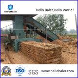 Presse hydraulique automatique horizontale pour la paille, foin, herbe