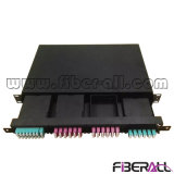 96f MPO Faser-Änderung- am Objektprogrammpanel mit Kassette und optischer Steckschnür
