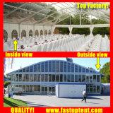 車展覧会900の人のSeaterのゲストのための明確なArcumの玄関ひさしのテント
