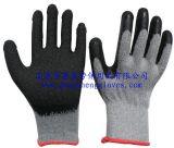 10G Polycotton Garnknit-Zwischenlage-Latex-überzogene Handschuhe (GS-1015)
