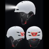 道の前部および後部スマートなLEDの照明組み込みの循環のバイクの乗馬の安全ヘルメット