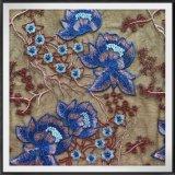 敏感な網の刺繍のレースのテュルの刺繍のレースの花によって刺繍されるレース