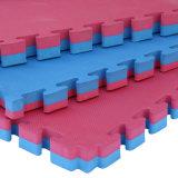 Das Muster gemischte Farben-Puzzlespiel-Matte EVA-Schaumgummi-Matten-Ineinander greifen schneiden