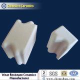 Bloc en céramique d'alumine de 95% pour la doublure d'usure