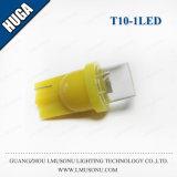 Lâmpada côncava interior leve do bulbo do diodo emissor de luz T10 da C.C. 12V do diodo emissor de luz da lâmpada do diodo emissor de luz de T10 1LED