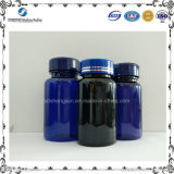 [150مل] محبوب زرقاء زجاجة بلاستيكيّة لأنّ صيدلانيّة يعبّئ مع معدن غطاء