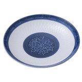 Белый и голубой цвета высокого класса меламина ужин пластину