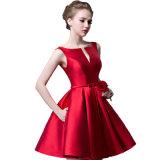 Vestito da partito con A - riga vestito Sleeveless Sleeveless da promenade di sera del vestito da sera del vestito da Gril