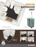 Salle de bains modulaire Eco gousses, Préfabriqué modulaire Les unités de la salle de bains, salle de bains modulaire