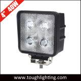 12V de 4 pulgadas de 40W Offroad CREE LED luces de trabajo de conducción