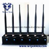 6つのバンドは黒くするすべての遠隔制御装置の妨害機及びRFの妨害機(315/433/868/915MHz)を