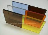 Folha de acrílico para material de construção
