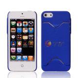 Teléfono de disco duro de la tarjeta de caso para el iPhone 5 (iP5-HC0021)