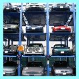 Гидровлический многоуровневый подъем гаража столба Lifter 4 стоянкы автомобилей штабелеукладчика автомобиля