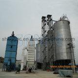 강철 콘 기초 곡물 저장통