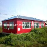 Villa prefabbricata della struttura d'acciaio (MV-03)