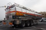 De Oplegger van de Tanker van de Brandstof van het aluminium van de Aanhangwagen van de Vrachtwagen